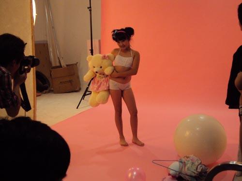 成功推荐儿童模特拍摄少儿内衣广告